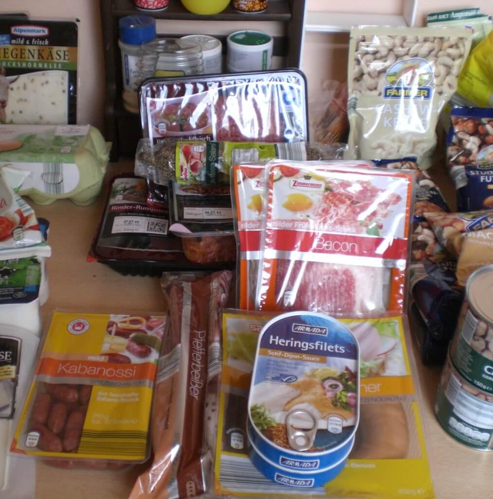 KW 29 - Einkauf der Woche - Paleo-Diät Einkaufsliste bei ALDI - Fleisch und Fisch