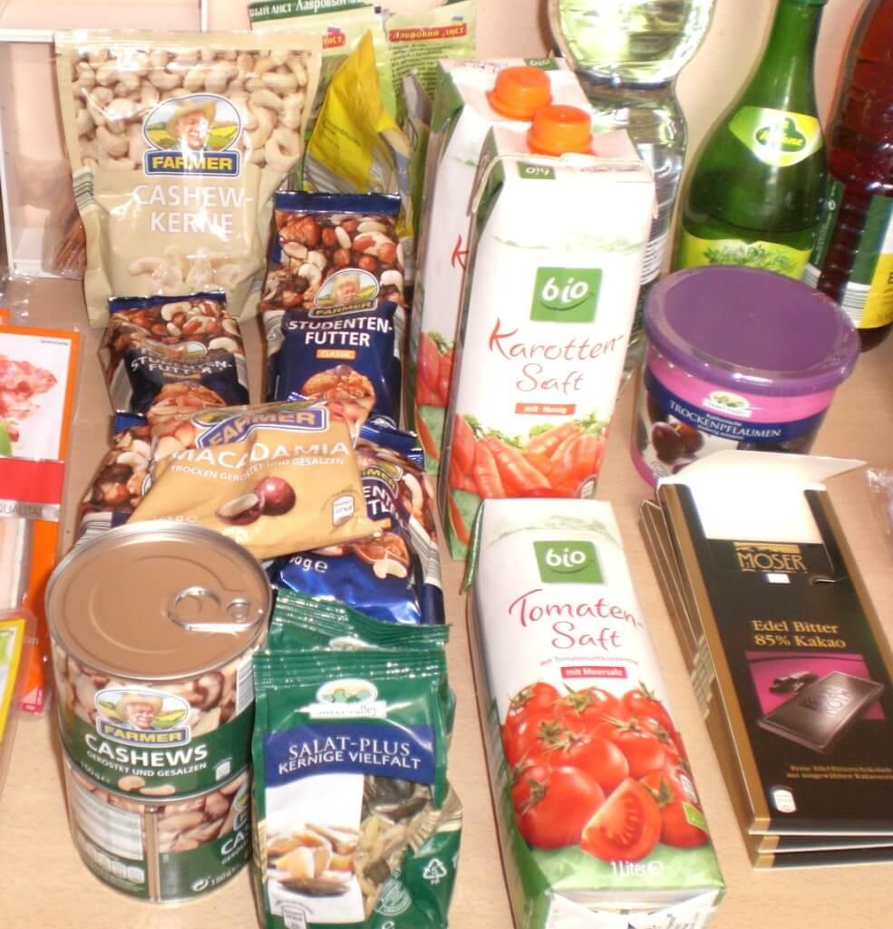 KW 29 - Einkauf der Woche - Paleo-Diät Einkaufsliste bei ALDI